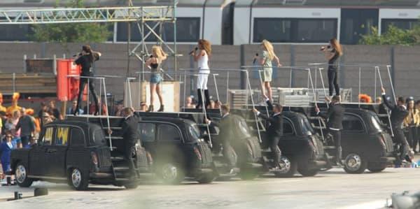 Spice Girls zatvaraju Olimpijadu