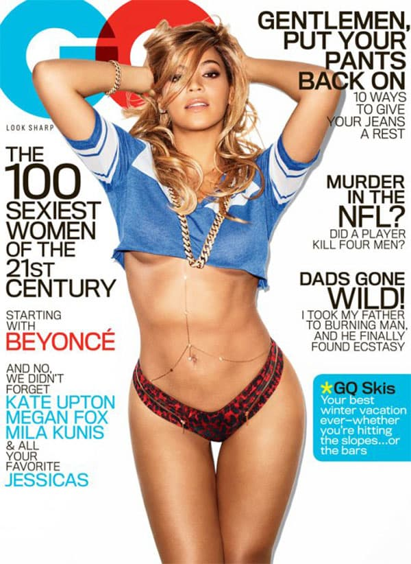 Seksi Beyonce na naslovnoj strani februarskog 'GQ'