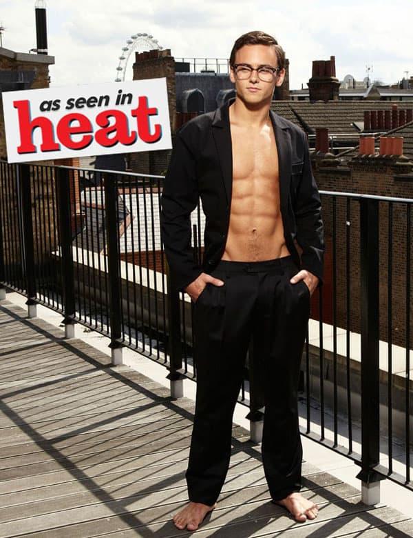 Tom Daley za heat