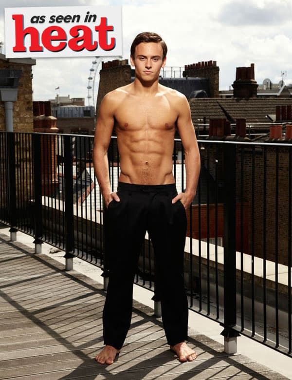 Tom Daley za heat