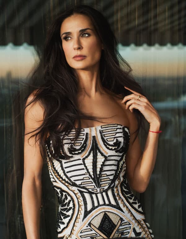 Demi Moore (foto: Vogue)