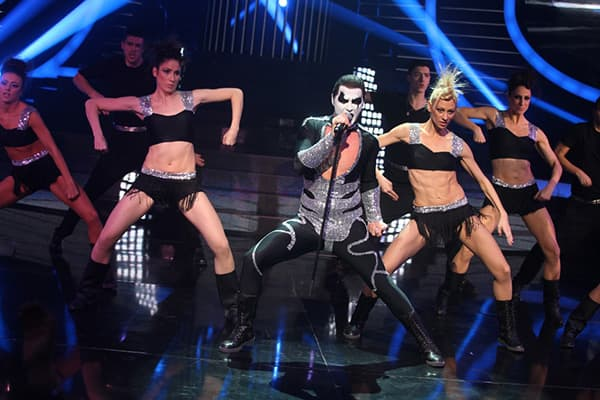 Aleksa Jelic kao Robbie Williams