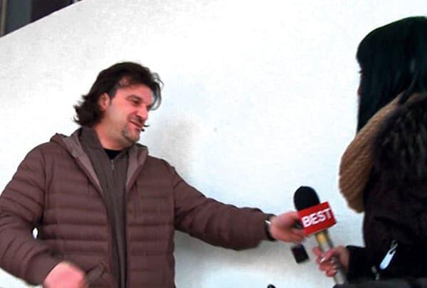 Lukas odgurnuo novinarku