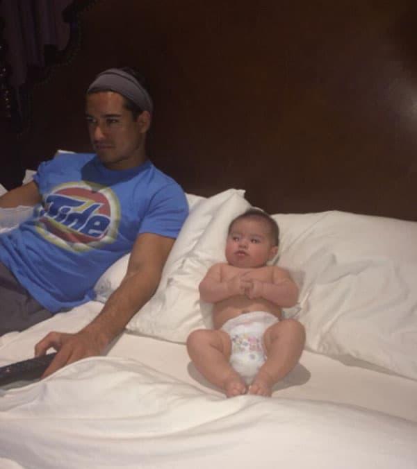 Dominic Lopez, sin  Marija i Courtney Lopez, rodio se 9. septembra 2013.
