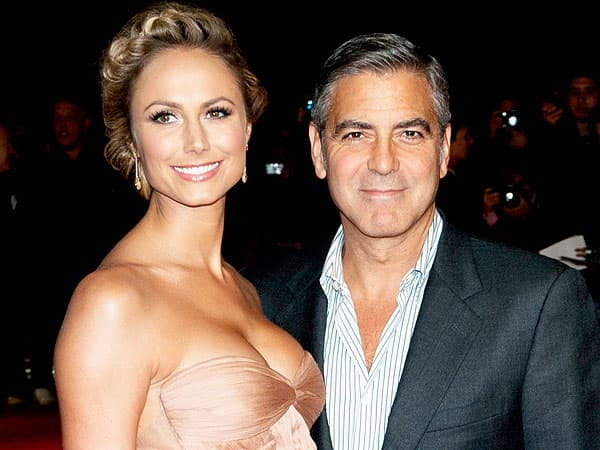 George Clooney i Stacy Kiebler