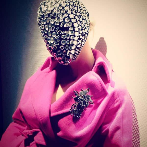 Maska je delo belgijskog dizajnera