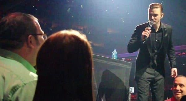 Nesvakidašnji gest na koncertu