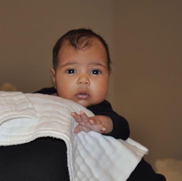North West, ćerka Kim Kardashian i Kanye Westa rodila se 11. jula 2013.