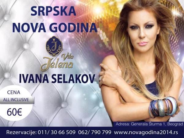 Srpska Nova godina u vili Jelena uz Ivanu Selakov