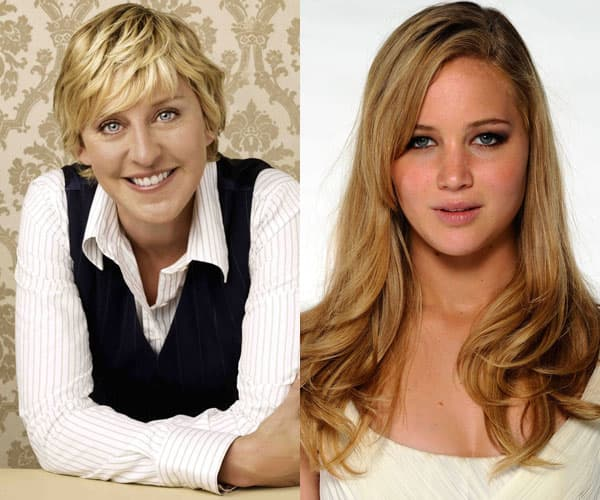Ellen i Jennifer vode prestižne dodele nagrada