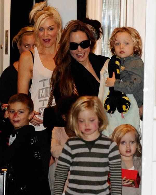 Gwen Stefani i Angelina Jolie