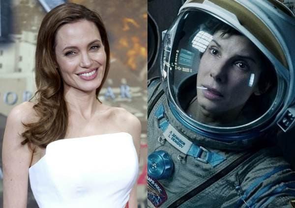 Angelina Jolie i Sandra Bullock