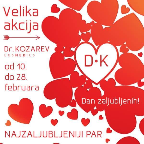 """Nagradna igra Dr Kozarev cosmedics - """"Najzaljubljeniji par""""!"""