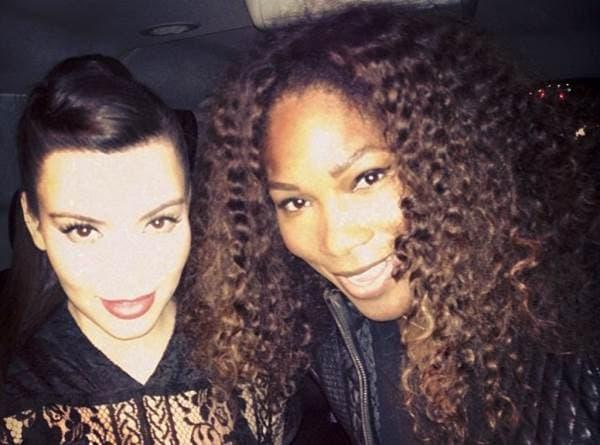 Kim Kardashian i Serena Williams