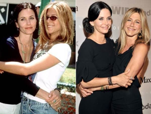Courtney Cox i Jennifer Aniston