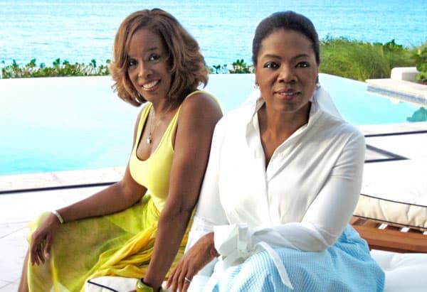 Gayle King i Oprah Winfrey