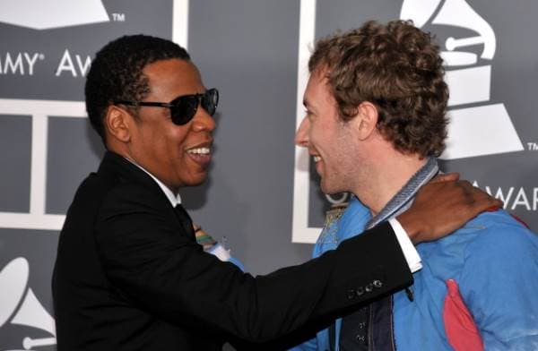 Jay Z i Chris Martin