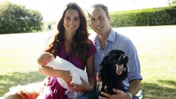 kate middleton princ george princ william