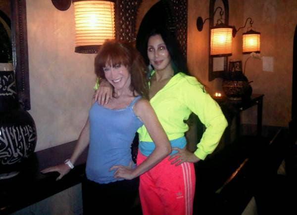 Kathy Griffin i Cher