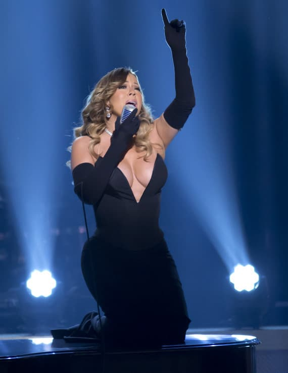 Mariah Carey Performs at The BET Honors-Washington DC