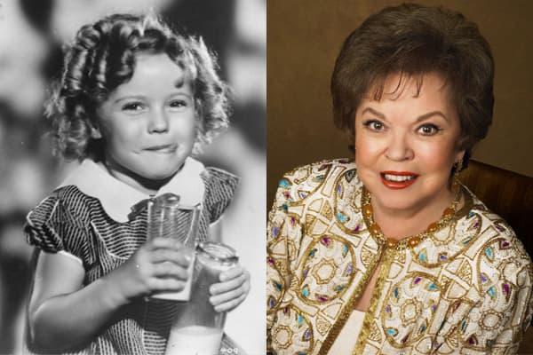 Shirley u ranoj dobi (levo) i 2005. godine (desno)