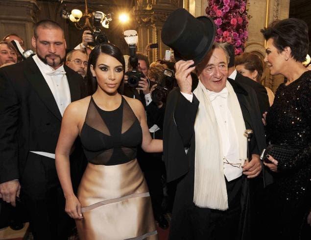 kim kardashian austria opera ball