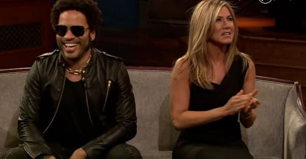 lenny kravitz jennfer aniston