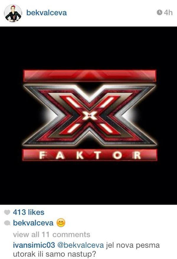 natasa x factor