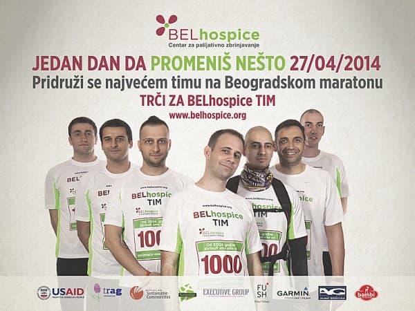 Poziv za ucesce na Beogradskom maratonu u BELhospice timu_Fotografija 1