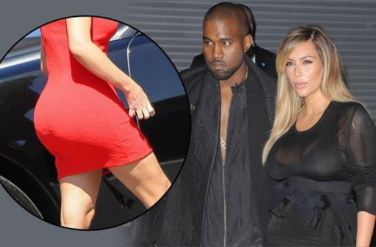 Došla je i guza na red za repovanje - Kanye West i Kim Kardashian