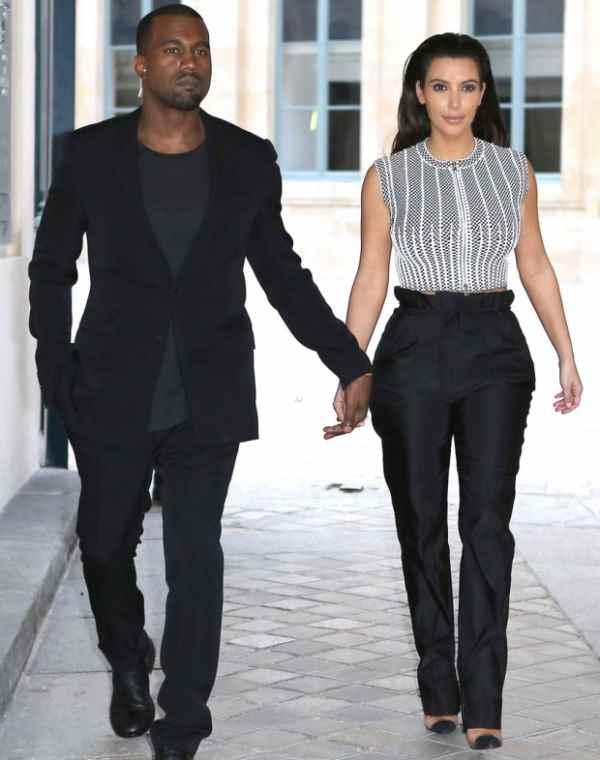 Žele da budu fini - Kanye West i Kim Kardashian