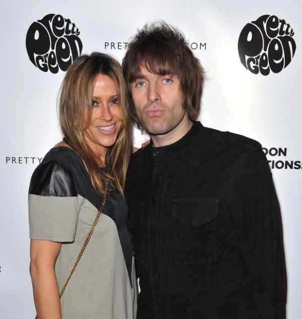 Nicole Appleton i Liam Gallagher