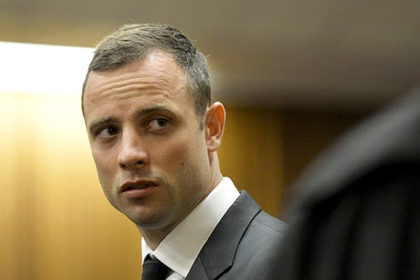 Oscar Pistorius murder trial at Pretoria High Court, Pretoria, South Africa - 03 Mar 2014
