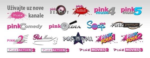 Neki od Pinkovih kablovskih kanala