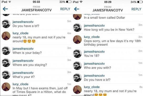Privatne poruke poslate putem Instagrama