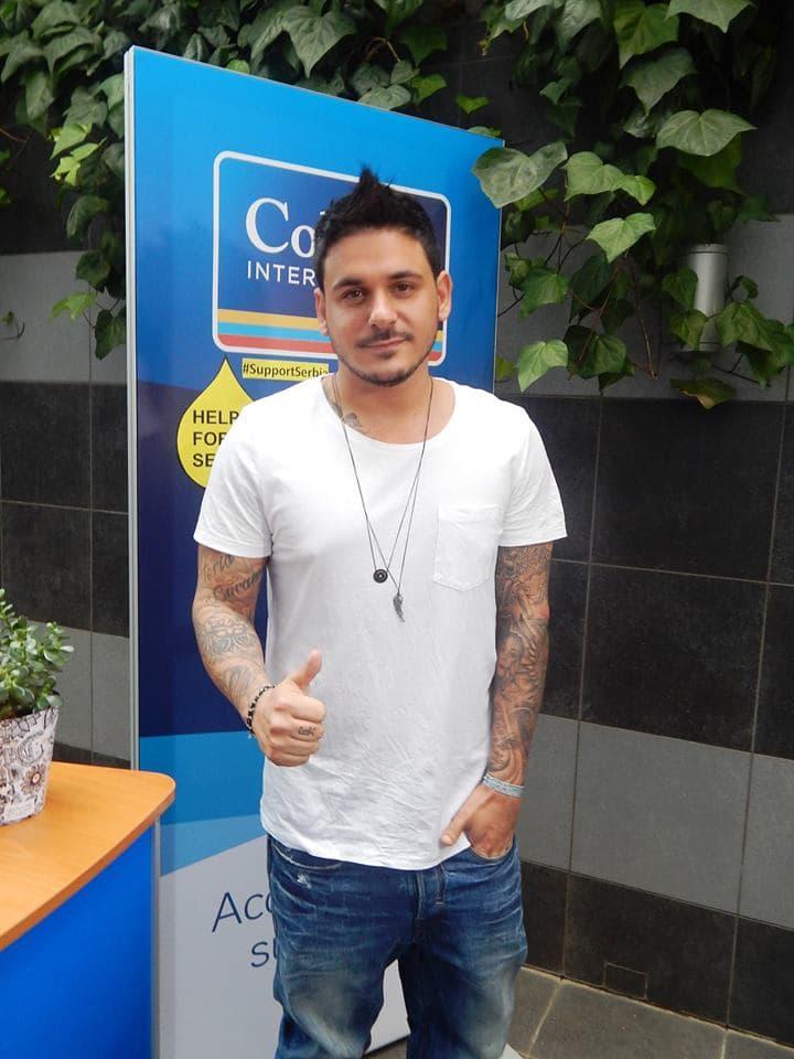 Grčka zvezda muzička Stan organizovao akciju prikupljanja pomoći za Srbiju