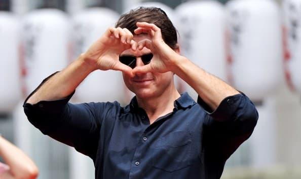 Tom Cruise voli Japance. 26. jun, Osaka, Japan.