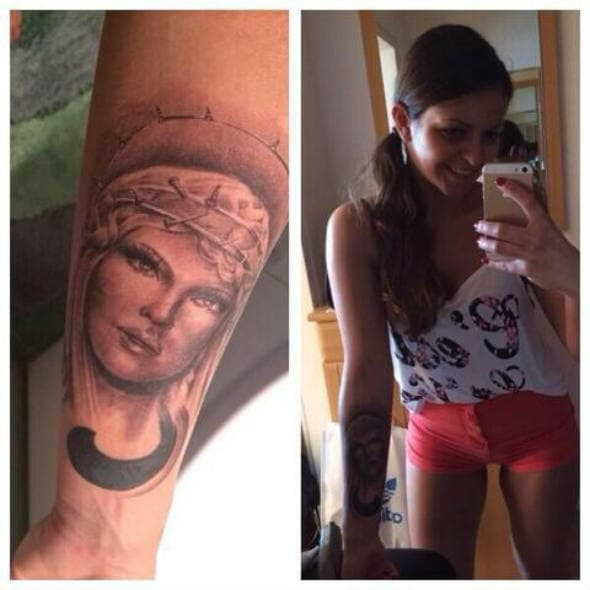 Karleuša se pohvalila tetovažom s njenim likom