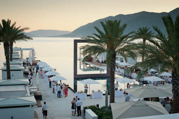 Vinski spektakl u Porto Montenegru