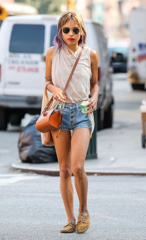 Zoe Kravitz Out For A Stroll In NYC