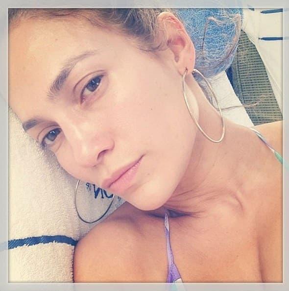 J.Lo bez šminke