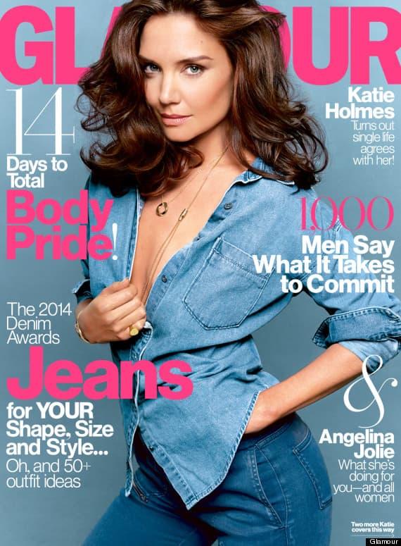Katie Holmes na naslovnoj stranici magazina Glamour