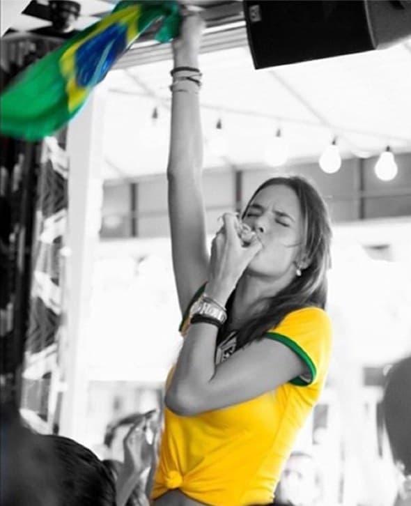 Alessandra Ambrosio je ovako izrazila patriotizam.