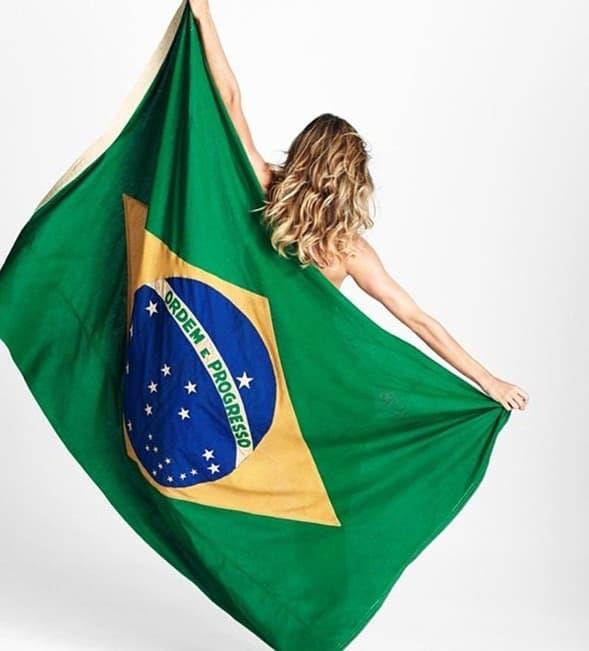 Kao i Gisele. Nažalost, Brazil je izgubio obe utakmice koje je igrao!