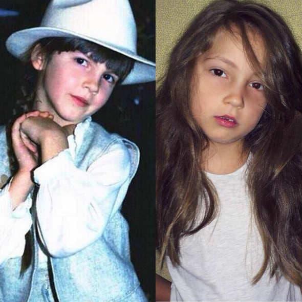 Karleuša 1984. i njena ćerka danas!