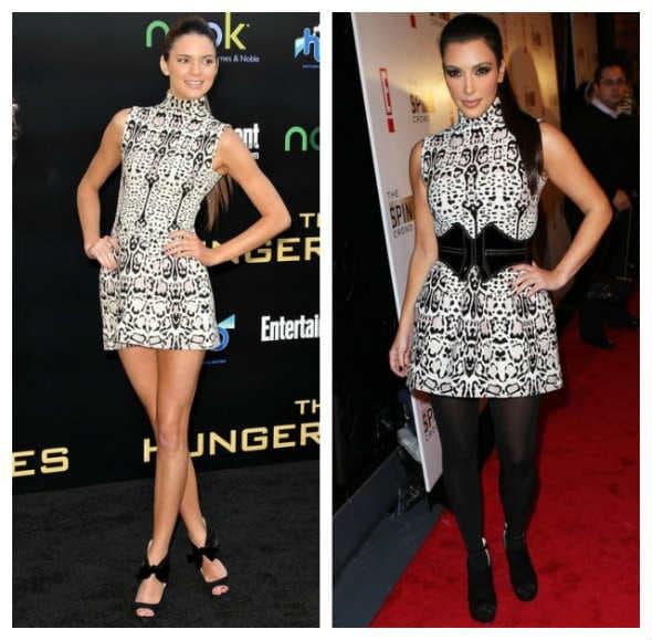 Kojoj sestri bolje stoji crno-bela haljina?