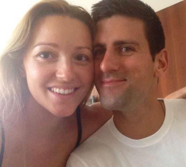 Novak i Jelena šalju pozdrave iz Beograda