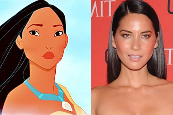 Pocahontas - Olivia Munn