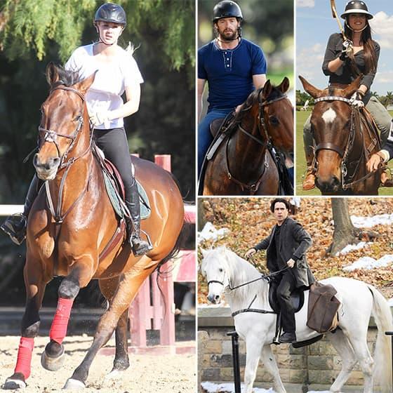Poznate ličnosti koje umeju da jašu konja
