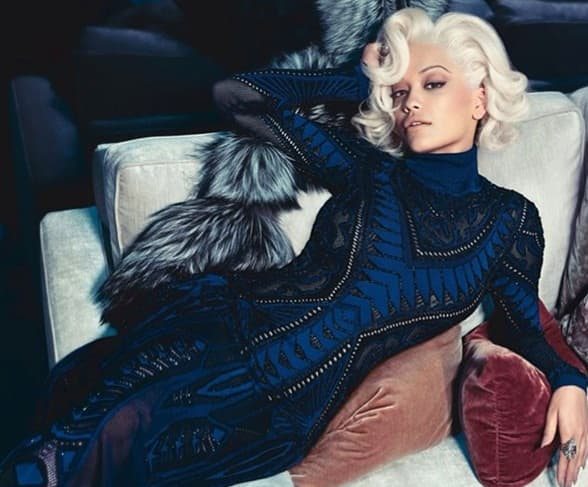 Rita Ora pohvalila se fotografijom reklmne kampanje za Cavalli.